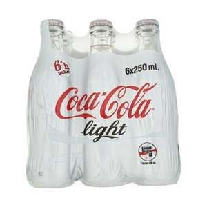 Coca Cola Light 6x250 ml