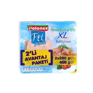 Polonez Hindi Füme Jambon 2x200 gr