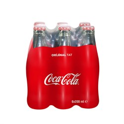 COCA COLA 6*200 ML CAM