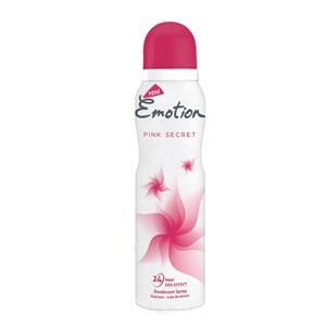 Emotion Pink Secret Deodorant 150 ml