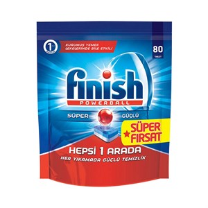 Finish Hepsi 1 Arada Tablet 80li