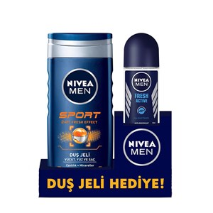 NIVEA  ROLL-ON FRESH ERK+ NIVEA DUŞ JELI