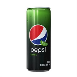 PEPSI TWIST 250 ML KUTU